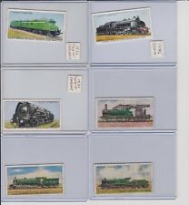 1930's Imperial Tobacco Company Vintage Train Cards-Lot of (6)