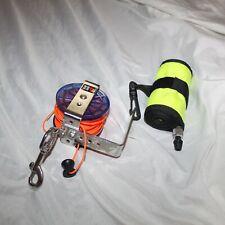 DIVE RITE Cave Jump / Wreck Diving  Reel Neon Orange DIVER BELOW Buoy