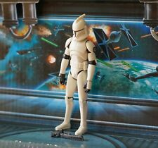 STAR WARS FIGURE 2008 ANIMATED CLONE WARS TURBO TANK SUPPORT SQUAD CLONE TROOPER