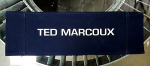 Ghost In The Machine ('93) Canvas Seat Back Made for Ted Marcoux - Actor