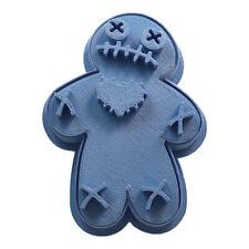 Cuticuter Halloween Voodoo Cookie Cutter Vudu Cortador de Galletas 8x7x1,5cm