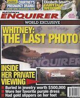 National Enquirer Mar. 5 2012 Whitney Houston Courtney Robertson Elizabeth Smart