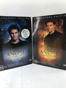 Angel Season 1 - Part 1 and 2 (DVD 2001 6 disc-set) Region 4 FAST SAFE SHIP