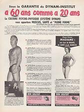 Publicité Culturisme Musculation Body bulding  print ad 1949