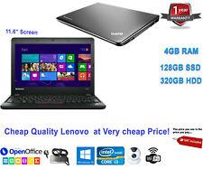 "Cheap Fast STUDENT Netbook LAPTOP 11.6"" Core i3 4GB RAM 128GB SSD Window 10 HDMI"
