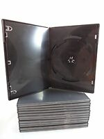 Lot of 57 Empty Black DVD CD Blu Ray Movie Cases Clean Unused