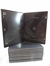 Lot of 57 Empty (Black) DVD CD Blu ray Movie Cases Xbox PS2 PS3 Wii CD-ROM
