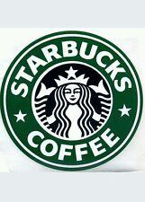 "Starbucks Coffee Stickers (3) 4.5"" Round, Original, 3 pieces., FREE Shipping USA"