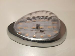 Pair of LED Clear/Amber indicator/Parker lights. Argosy,Western star,Sterling