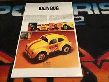 73 COX BAJA BUG POSTER  Vintage cox toy Volkswagen