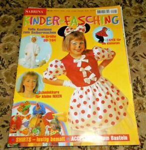 Sabrina aus DM-Zeiten Kinder Karneval Fasching Nähen  Schnittmuster Kostüme