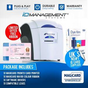 Magicard Pronto ID Card Printer • FREE Ribbon • FREE Delivery