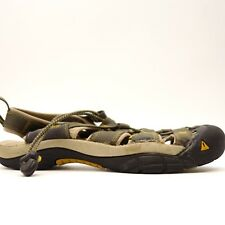 KEEN Mens Newport H2 Olive Hiking Trail Walking Sandals Water Shoes Size 10