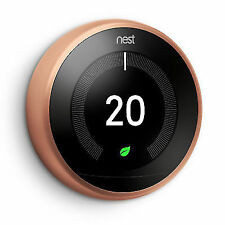 Nest T3018gb Learning Thermostat  No Installation - Copper