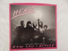 """HEART """"How Can I Refuse"""" PICTURE SLEEVE! BRAND NEW! ONLY NEW COPY ON eBAY!!"""