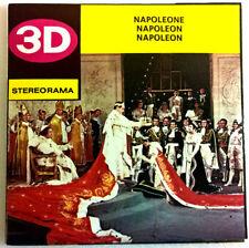 "3x Stereorama discos ""napoleón"" technofilm como View Master sawyers OVP nuevo"