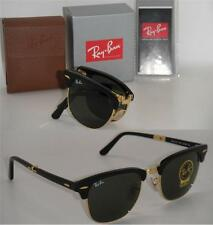 ray ban clubmaster 51mm black  Ray-Ban RB2176 51 CLUBMASTER FOLDING Sunglasses 51mm