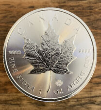 2020 1 oz Canadian Silver Maple Leaf Coin 1 Troy Ounce of 9999 Fine Silver