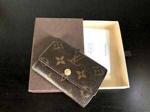 Authentic Louis Vuitton Monogram Key Holder  6-Key Ring Holder