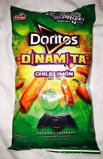 1 bag Doritos Dinamita, Chili Limon, Rolled Tortilla Chips  9.25oz