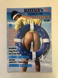 Mayfair GIRLS OF SUMMER ~ Number 2 ~ 1988 ~ Linda Lusardi, Joanne Latham