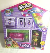 Shopkins Happy Places Rainbow Beach with Pineapple Lily NEW Sealed In Packaging