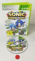Sonic Generations   Xbox 360   gebraucht in OVP mit Anleitung