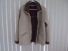 Women's FUDA  Beige Winter Jacket Coat  Size M Medium