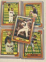 Nolan Ryan 5000 Strikeout Card Set (Topps 1990) Mint not graded