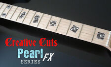 Las Vegas Rolling Dice BLACK PEARL Fret Marker Inlay Decals for BASS & GUITAR
