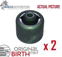 2 x BIRTH REAR AXLE BEAM MOUNTING BUSHES GENUINE OE QUALITY - 51380