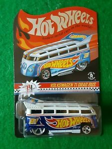Hot Wheels Red Line Club Volkswagen T1 Drag Bus, #00890 of 04000, Real Riders!!