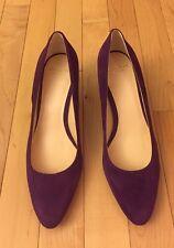 NEW Cole Haan Purple Suede Pumps Size 7