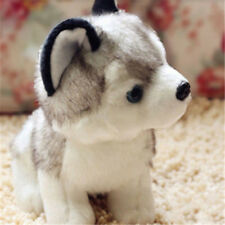Cute Dog Animal Soft Toy Plush Husky Schnauzer Cuddly Keel Toys 18cm