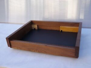 THORENS TD-125 solid WALNUT wood PLINTH (without turntable!)