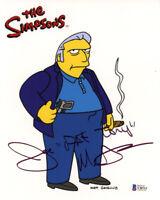 JOE MANTEGNA SIGNED AUTOGRAPHED 8x10 PHOTO + FAT TONY THE SIMPSONS BECKETT BAS