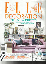 ELLE DECORATION MAGAZINE UK,   THE STYLE MAGAZINE FOR YOUR HOME   MAY, 2017