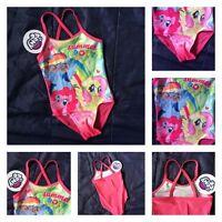 Girls Kids My Little Pony MLP Swimming Surf Sun Suit Swim Character Costume