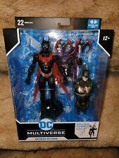 McFarlane DC Multiverse BATMAN BEYOND Target Exclusive with Joker Bot BAF MISB