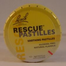 Bach Rescue Remedy Pastilles 50g. Three Tins BBE 10/19