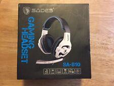SADES GAMING HEADSET SA-810 Microphone **NEW** NIB