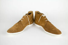 New SUTOR MANTELLASSI Brown Suede Leather Chukka Boots Shoes Size 12 US $1050