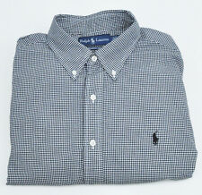 Polo Ralph Lauren Classic Fit Long Sleeve Button Shirt Men's sz 17 36/37 Cotton