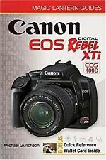 Canon EOS Rebel XTi : EOS 400D Paperback Michael Guncheon