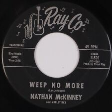 """NATHAN McKINNEY & VALLEYITES: Weep No More RAY-CO Doo Wop Group 7"""" 45 Mp3"""
