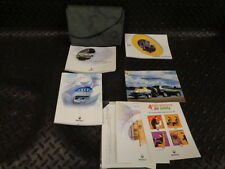1999 RENAULT CLIO OWNERS MANUAL HANDBOOK WITH WALLET
