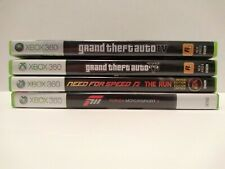 Xbox 360 GTA 4&5 - Forza 3 - Need For Speed The Run Limited edition - 4 Game lot