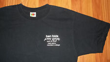 Rare EXCLUSIVE Ben Folds Local Crew North Carolina Concert T- Shirt five womens