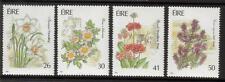 IRELAND MNH 1990 SG781-784 GARDEN FLOWERS SET OF 4