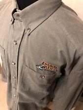 sports afield men's shirt green 100% cotton size xl new w/o tags